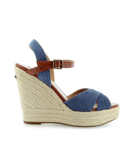 Pepe Jeans | Walker Romantic Pls90177 Women's Sandals In Blue | Lyst