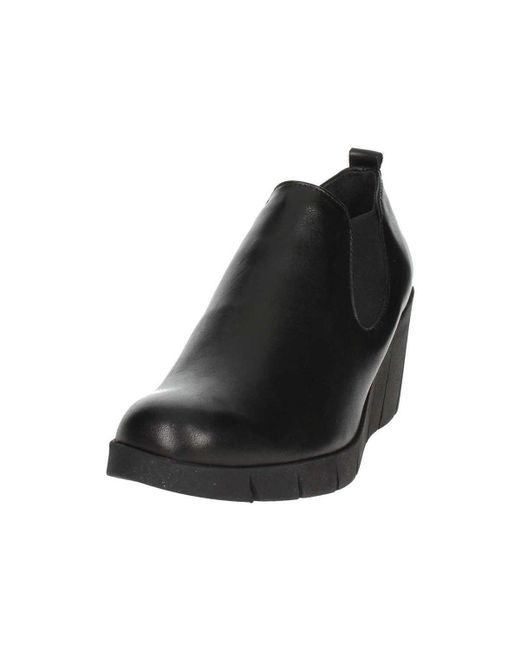 Boots 10 Women's Flexx With Black D4507 The Heels Ankle Wedge Women EIpwqdxUv