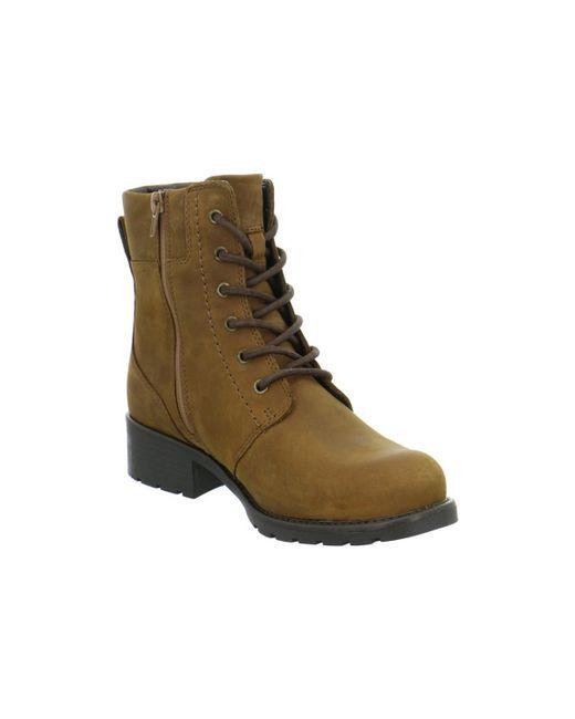 Clarks | Orinoco Spice Women's Mid Boots In Brown | Lyst