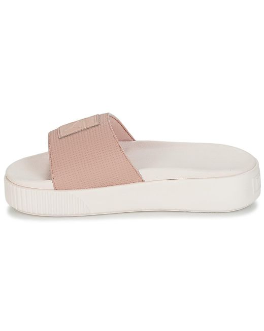 61b3122b2dc8 ... PUMA - Platform Slide Wns Ep Women s Mules   Casual Shoes In Pink ...