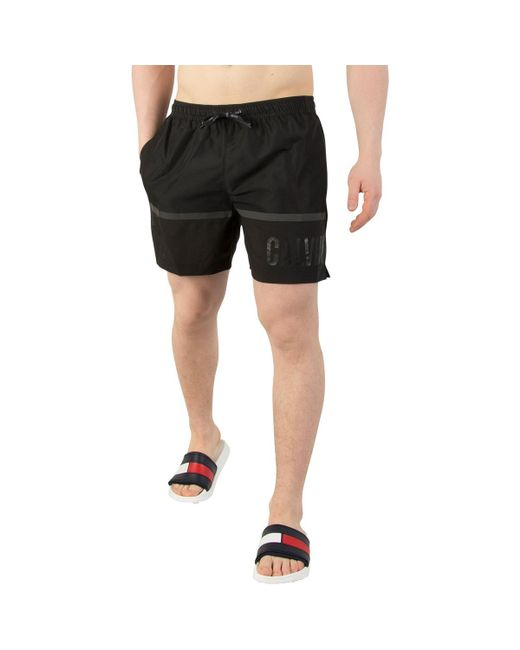 02c5d0cdd283af Calvin Klein - Men s Medium Drawstring Swim Shorts