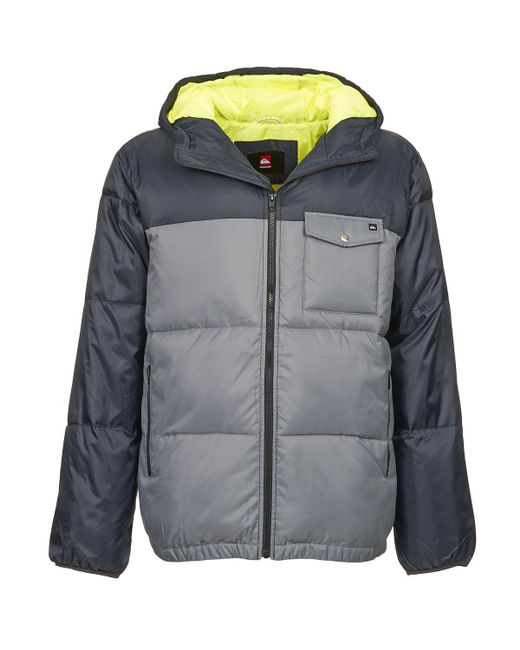 Quiksilver - Gray Baran Men's Jacket In Grey for Men - Lyst