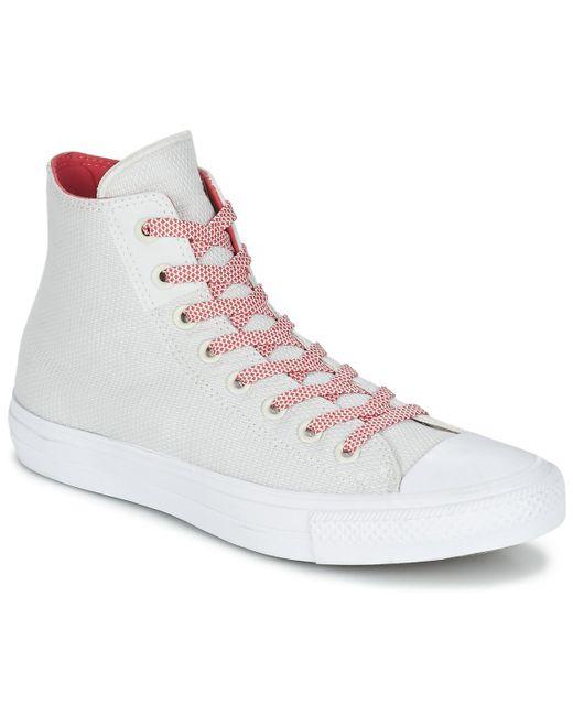 9fb658d2e3fa Converse - Chuck Taylor All Star Ii Basketweave Fuse Hi Men s Shoes  (high-top ...