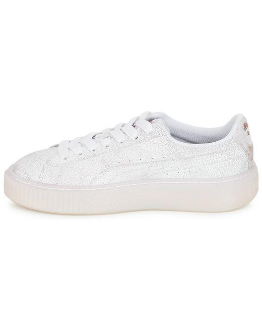 f3dec08d020 ... PUMA - Wn Suede Platform Artica.w Women s Shoes (trainers) In White ...