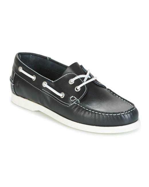 Casual Attitude - Revoro Men's Boat Shoes In Blue for Men - Lyst
