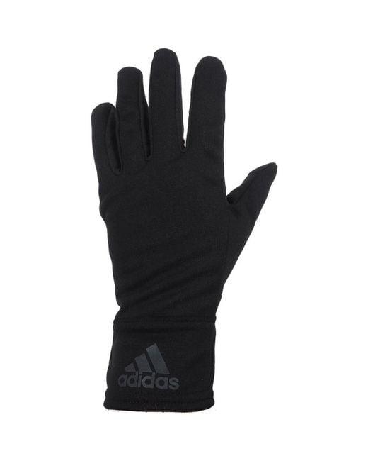Adidas - Black Clmht noir gloves hommes Gants en Noir for Men - Lyst