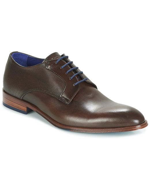 Azzaro | Hespal Men's Casual Shoes In Brown for Men | Lyst