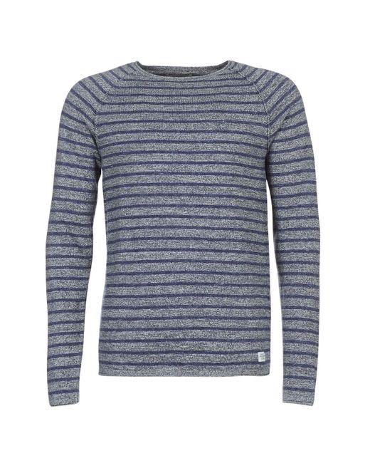 Jack & Jones - Gray Jorunion Sweater for Men - Lyst