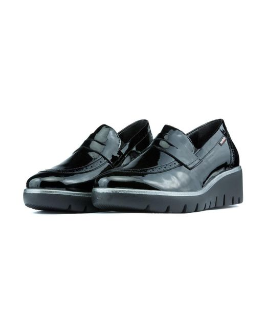 2fceb29333 ... Mephisto - Loafers Mobils Salika Vernicalf Women's Loafers / Casual  Shoes In Black ...