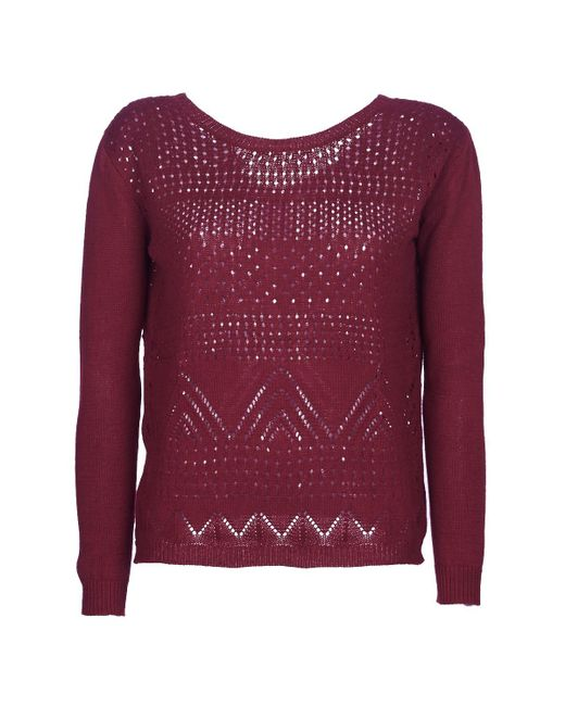 Betty London - Jeskoi Women's Sweater In Red - Lyst