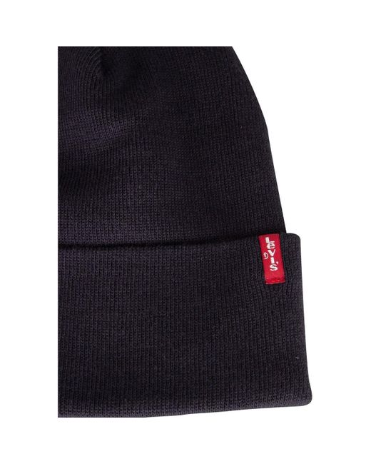 a5e07fbfdc3 ... Levi s - Levis Men s Slouchy Red Tab Beanie