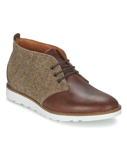 Wesc   Desert Boot Men's Mid Boots In Brown for Men   Lyst