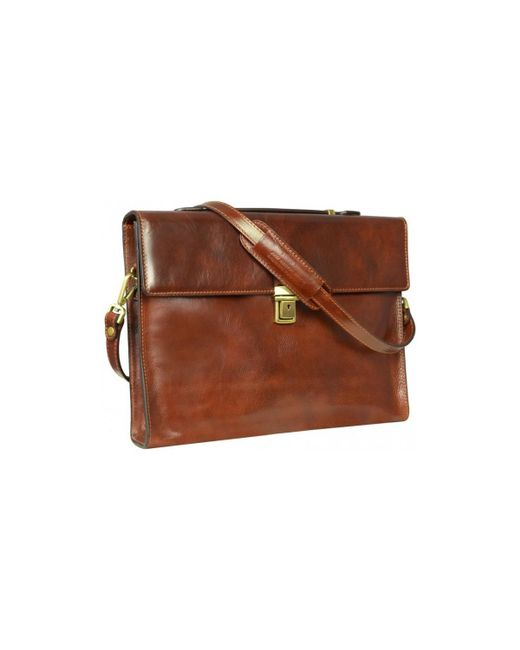 Time Resistance - Moonheart Women's Briefcase In Brown for Men - Lyst