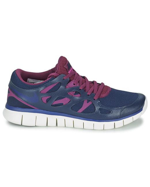 c6bbaabd79bf Nike Free Run 2 Ext Women s Shoes (trainers) In Blue in Blue - Lyst