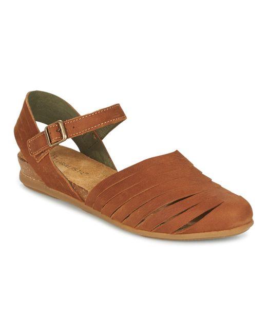 El Naturalista - Stella Women's Sandals In Brown - Lyst