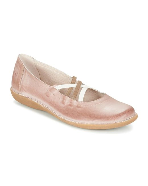 Casual Attitude - Geralette Women's Shoes (pumps / Ballerinas) In Pink - Lyst