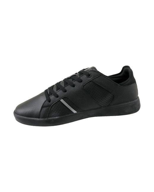 cf888510276fcd Lacoste Novas Ct Men s Shoes (trainers) In Black in Black for Men - Lyst