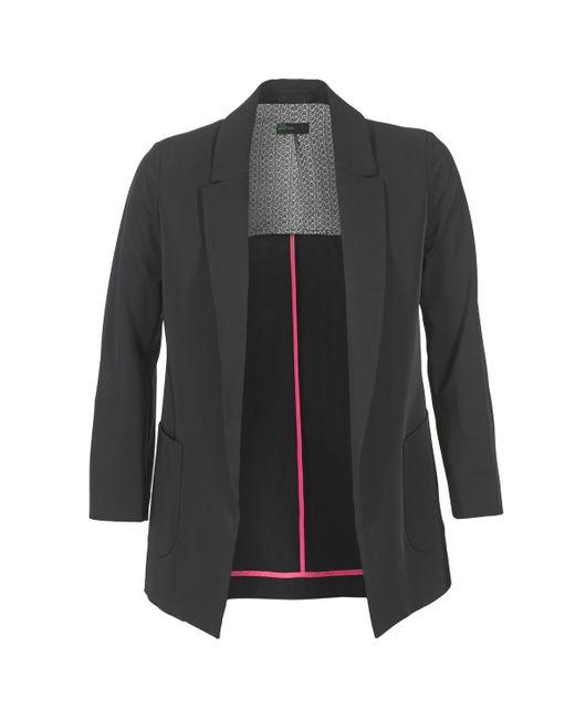 Benetton - Gulo Women's Jacket In Black - Lyst