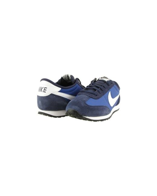 f0b36b2d197c8 ... Lyst Nike - Mach Runner 303992 Men s Shoes (trainers) In Blue for Men  ...