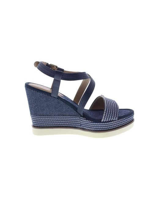 479c110b14e9 ... Lyst Wrangler - Blue Wl181640 Women s Sandals In Multicolour ...