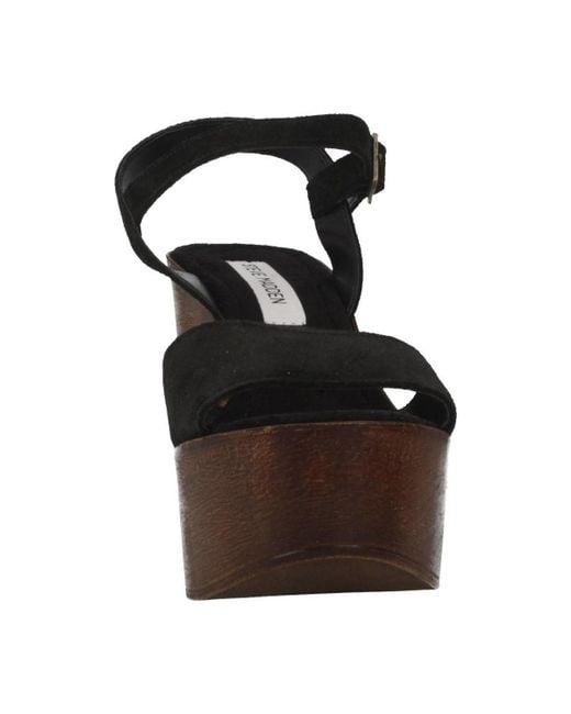 fbbcc645dd7 Steve Madden Lulla Women s Clogs (shoes) In Black in Black - Lyst