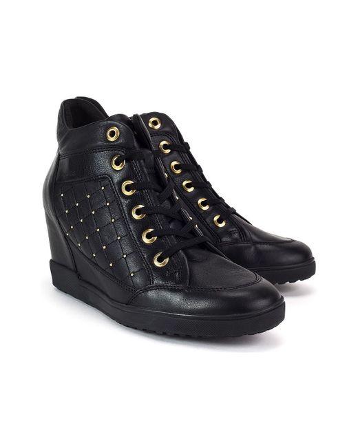 En Lyst Noir Carum Geox Coloris Chaussures Femmes A3Lqc54jR