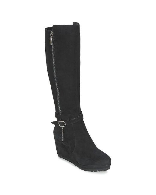 Moda In Pelle   Sita Women's High Boots In Black   Lyst