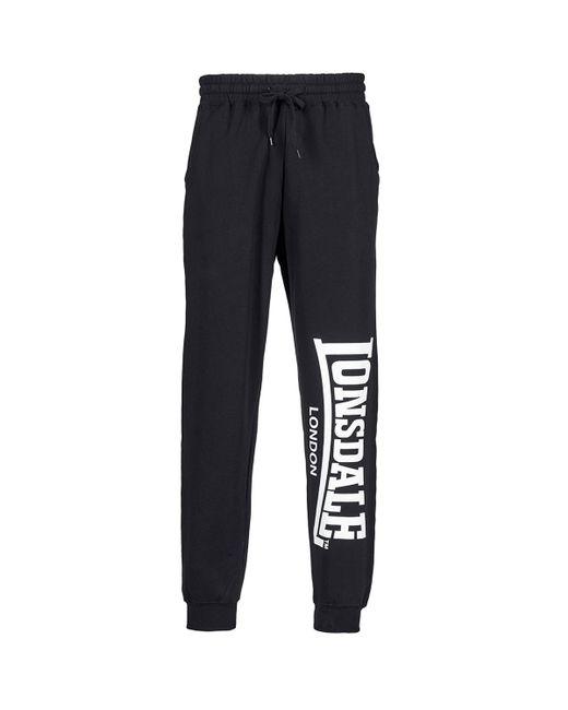 Lonsdale - Large Logo Men's Sportswear In Black for Men - Lyst