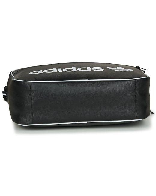 ... Lyst Adidas - Airliner Vint Men s Messenger Bag In Black for Men ... 9ab123f634