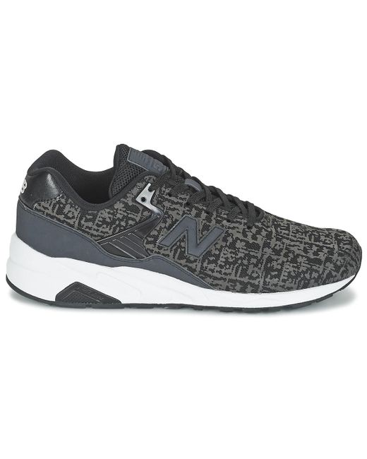 ae404f202e5ed ... Lyst New Balance - Mrt580 Men's Shoes (trainers) In Black for Men ...