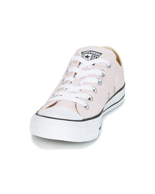 82d88abf5ebc8a ... Converse - Pink Chuck Taylor All Star Ox Seasonal Colors Shoes (trainers)  - Lyst ...