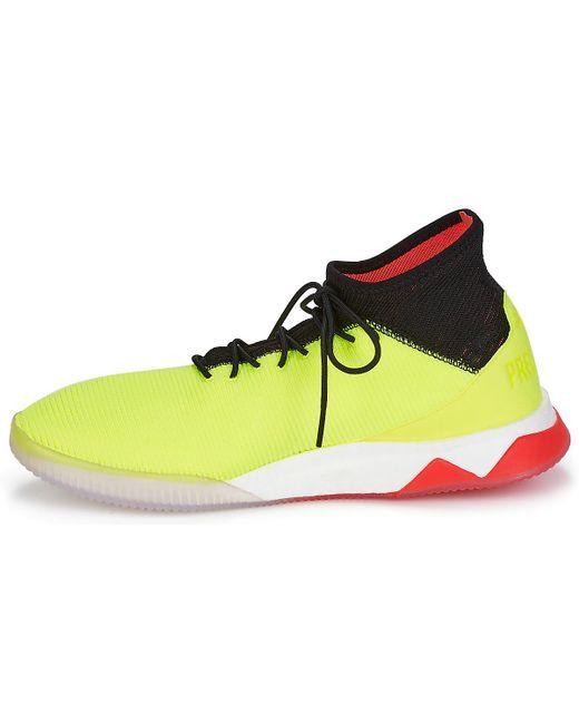 5de052312a8 ... Adidas - Yellow Predator Tango 18.1 Tr Football Boots for Men - Lyst ...