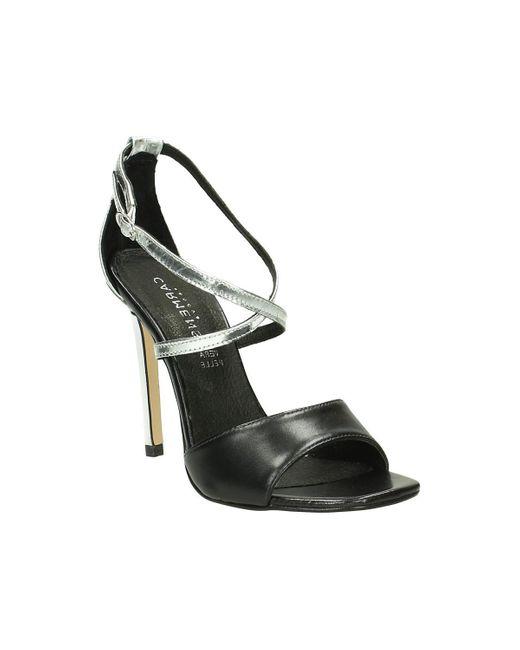 Carmens Padova   Metallic 37182 Sandals Women's Sandals In Silver   Lyst