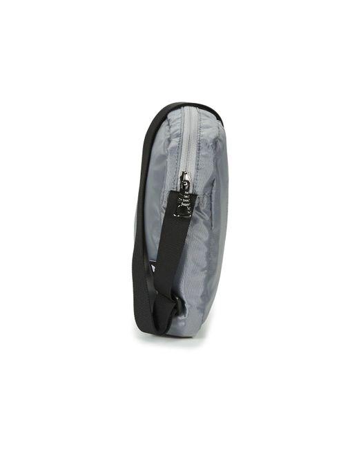 466d47c17c4 ... EA7 - Gray TRAIN PRIME U POUCH BAG SMALL C hommes Sacoche en Gris for  Men ...