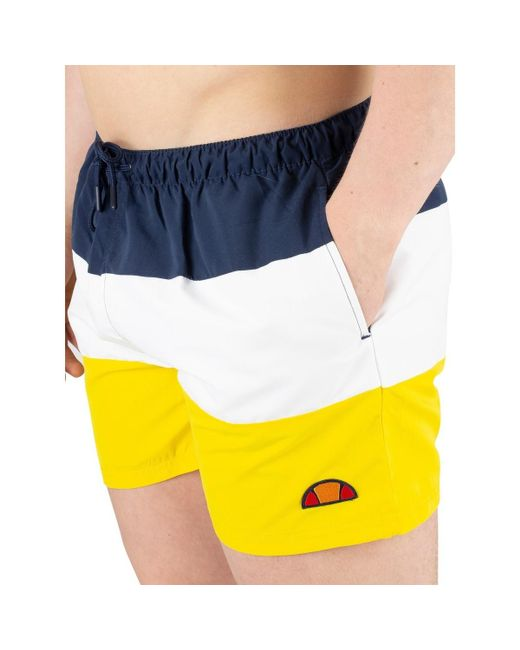 d787aaa2a0 ... Ellesse - Men's Cielo Swimshorts, Yellow Men's Shorts In Yellow for Men  ...