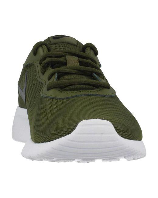 ... Lyst Nike | Tanjun Women's Shoes (trainers) In Green ...