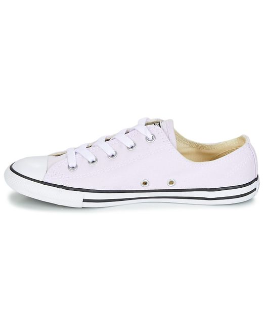 ... Converse - Purple Chuck Taylor All Star Dainty Ox Canvas Color Shoes ( trainers) ... 0ded54e2e