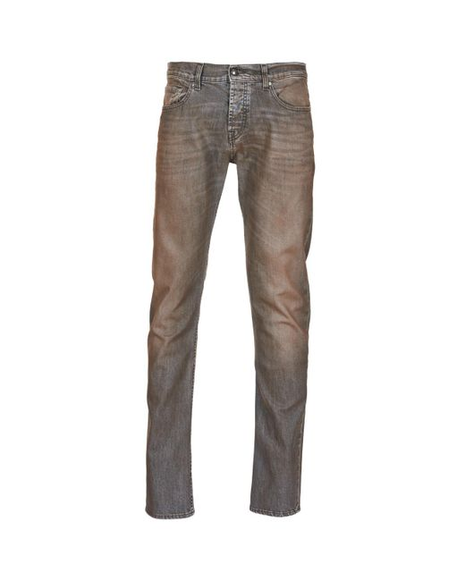 7 For All Mankind - Gray Chad Coated Fashion Skinny Jeans for Men - Lyst