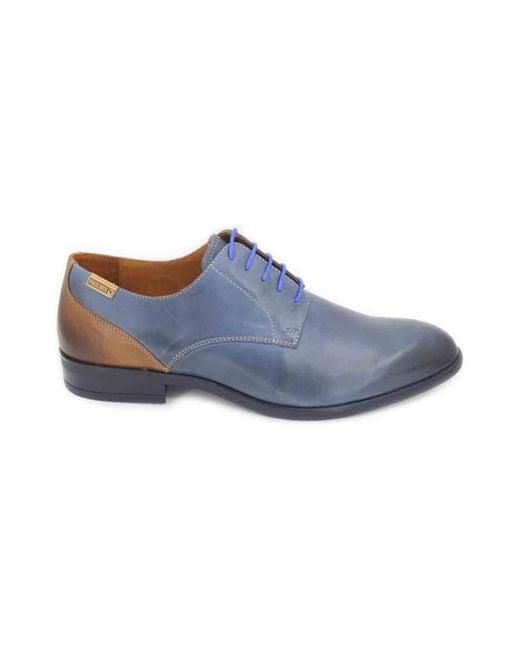 ... Pikolinos | Bristol M7j-4187c1 Men's Shoes Men's Smart / Formal Shoes  In Blue for ...
