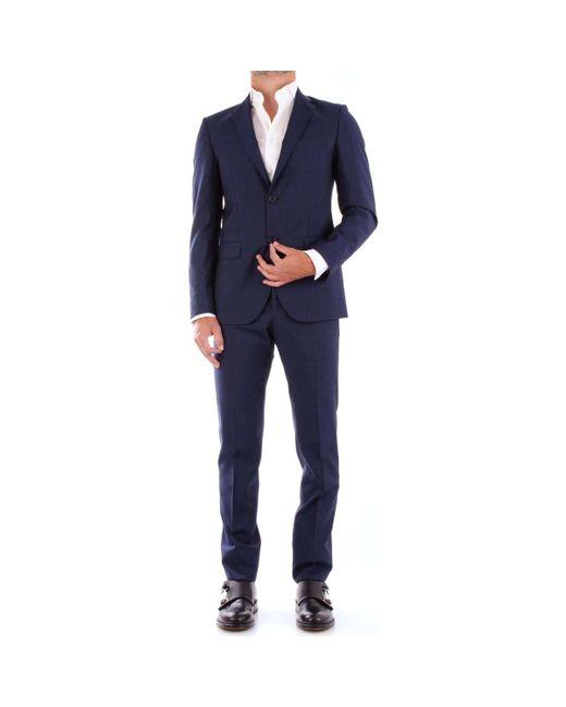Fradi - Blue 181AJ702181WN5635 hommes Costumes en bleu for Men - Lyst ... 7cd6618dac2c