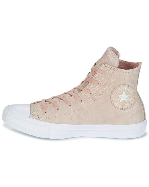 0f25f689dd55c6 ... Converse - Chuck Taylor All Star Hi Tipped Metallic Women s Shoes (high- top Trainers ...