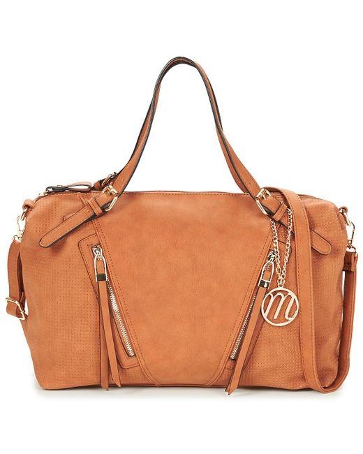 Moony Mood   Heritte Women's Shoulder Bag In Brown   Lyst