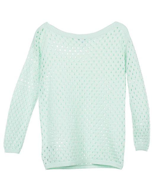 BCBGeneration - 617223 Women's Sweater In Green - Lyst