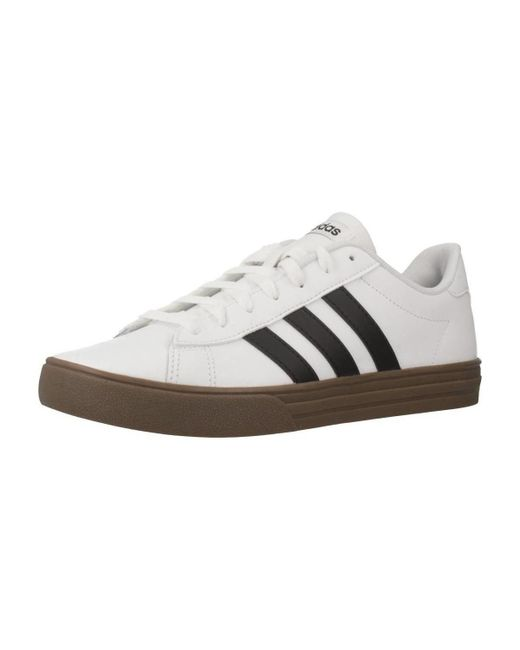 aaa818094d1eb9 Adidas - Daily 2.0 Men s Shoes (trainers) In White for Men ...