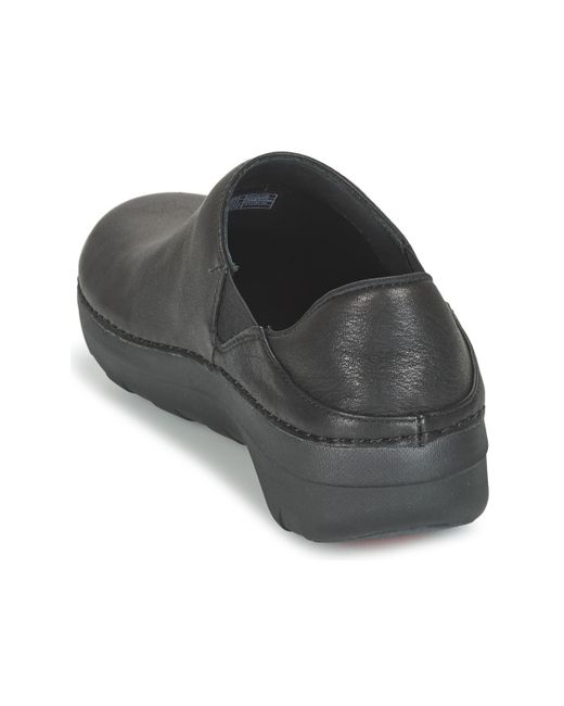 71f298ee5a1 ... Lyst Fitflop - Superloafer (leather) Women s Loafers   Casual Shoes In  Black ...