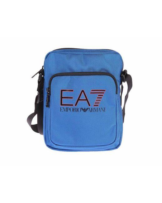 Emporio Armani | Train Evolution Messenger Bag Royal Blue for Men | Lyst