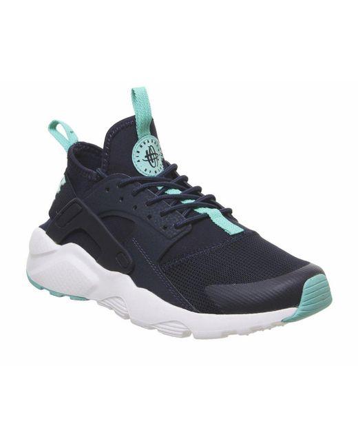 0d9787825edd ... Nike - Air Huarache Run Ultra Gs Trainers Blue for Men - Lyst ...
