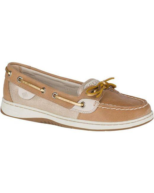 Sperry Top-Sider - Metallic Women's Angelfish Boat Shoe - Lyst