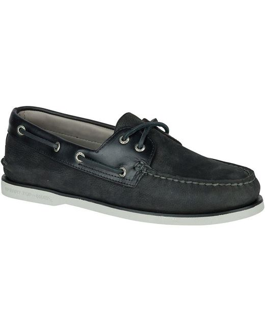Sperry Top-Sider | Black 'gold Cup - Authentic Original' Boat Shoe for Men | Lyst