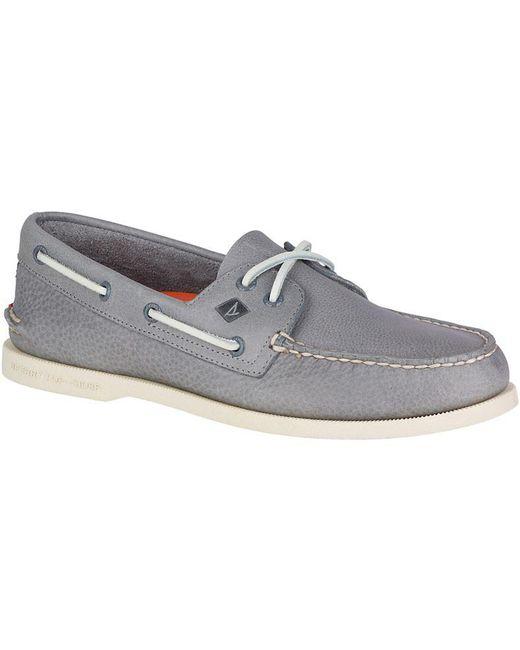 Sperry Top-Sider - Gray A/o 2-eye Daytona Shoe for Men - Lyst
